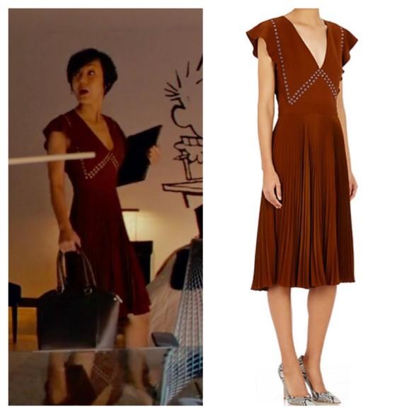 karen's brown grommet dress mistresses