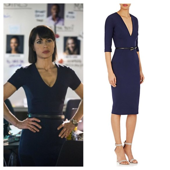quinn king blue belted dress unreal
