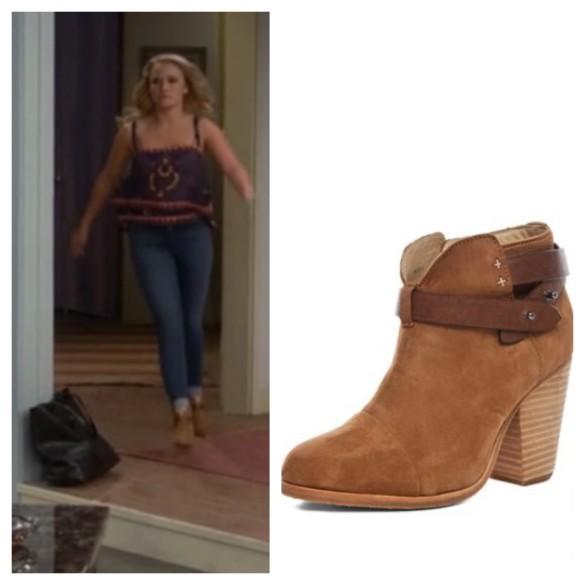 gabi's brown suede booties