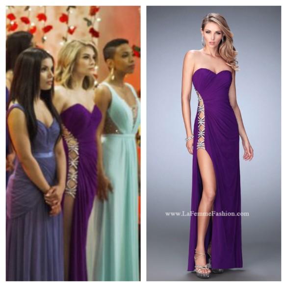 tiffany purple gown unreal