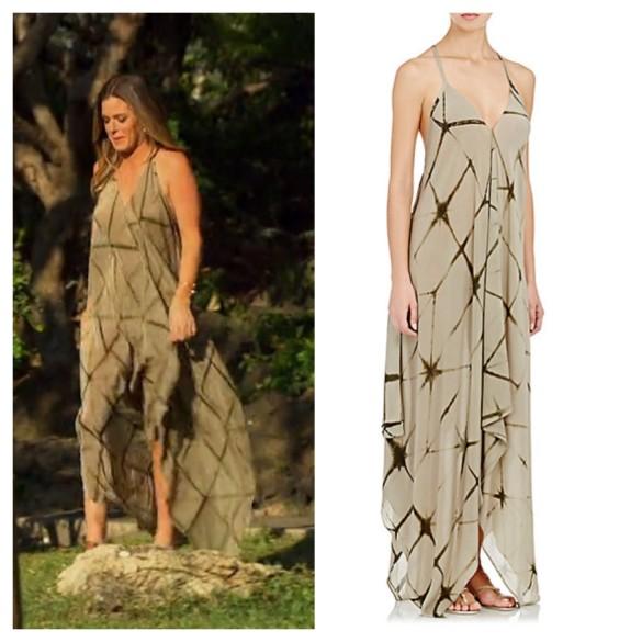 Jojo Fletcher Wardrobe The Bachelorette Outfit Maxi Dress