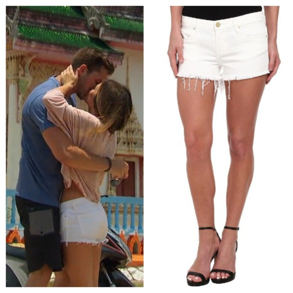 jojo fletcher, white denim shorts, the bachelorette
