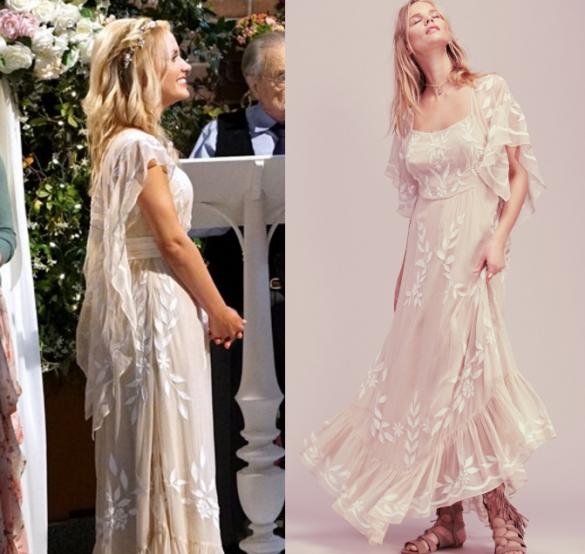 Meets World Season 3 Episode 10 Katy S Beige Fl Print Dress