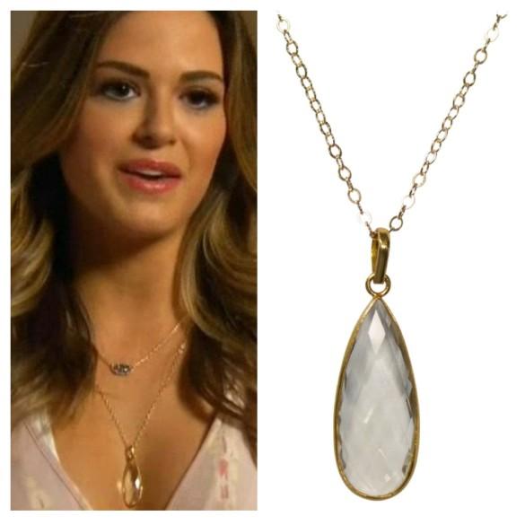 jojo crystal pendant, the bachelorette