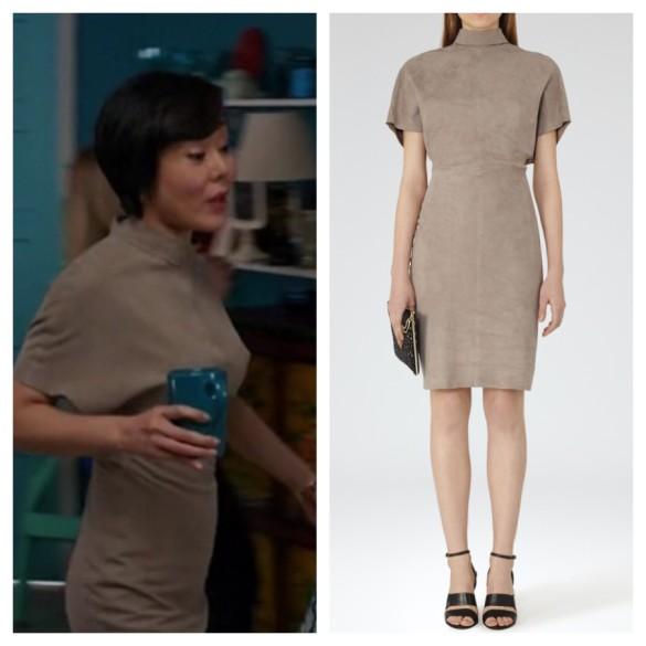 karen's brown suede dress, mistresses