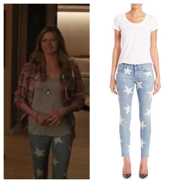 joss's star printed jeans mistresses