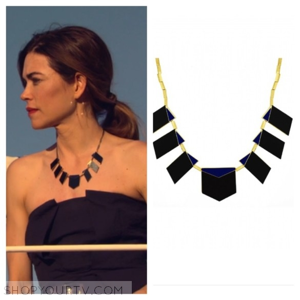 the young and the restless, house of harlow motif necklace