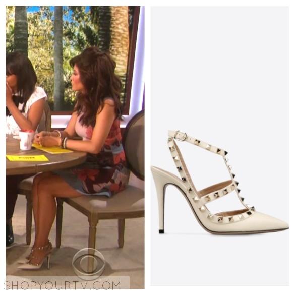 julie chen's shoes, the talk