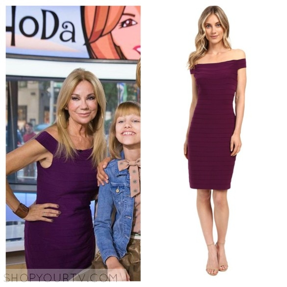 kathie lee's purple dress, the today show