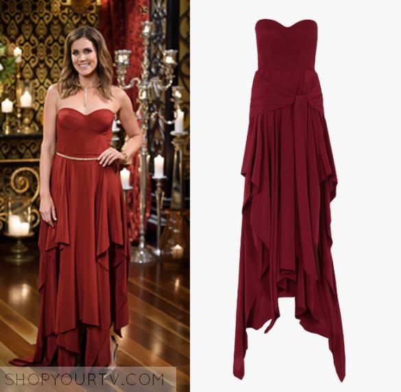 The Bachelorette Au Season 2 Episode 7 Georgia S Red Flowy Dress