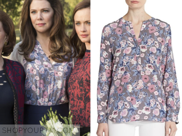 joie peterson silk floral top
