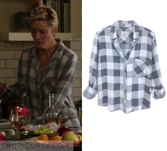 official photos a6a09 40bfa The Fosters: Season 4 Episode 17 Stef's Plaid Shirt | Shop ...