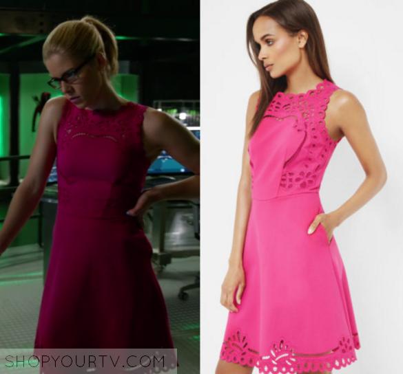 Felicity smoak arrow dress