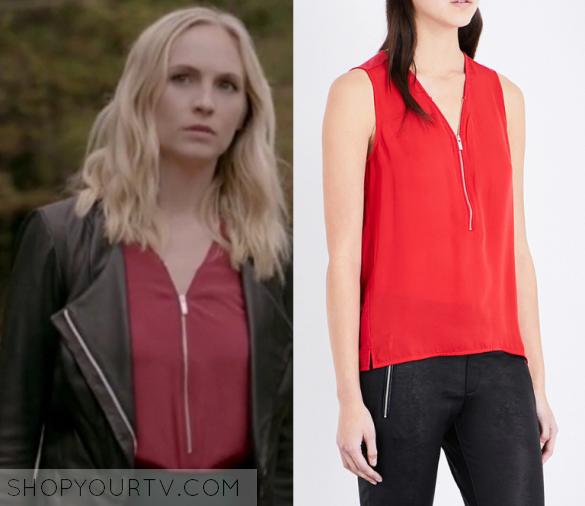 Caroline Forbes Fashion Clothes Style