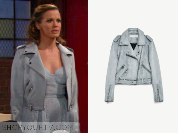 f89a842a3 Chelsea Newman Fashion, Clothes, Style and Wardrobe worn on TV Shows ...