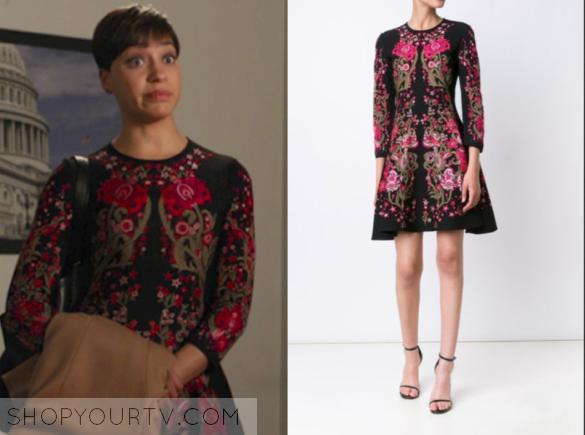 roberto cavalli floral knit dress