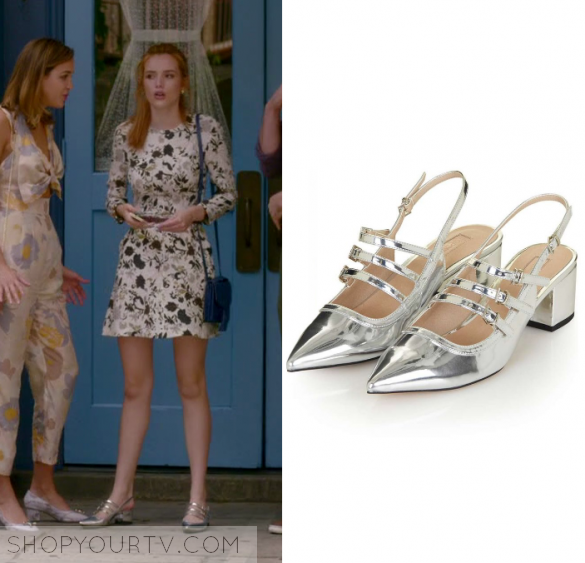 Famous in Love: Season 1 Episode 3 Paige's Metallic Sandals