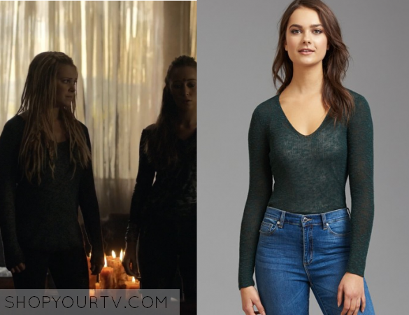 Clarke Griffin Fashion, Clothes, Style and Wardrobe worn on