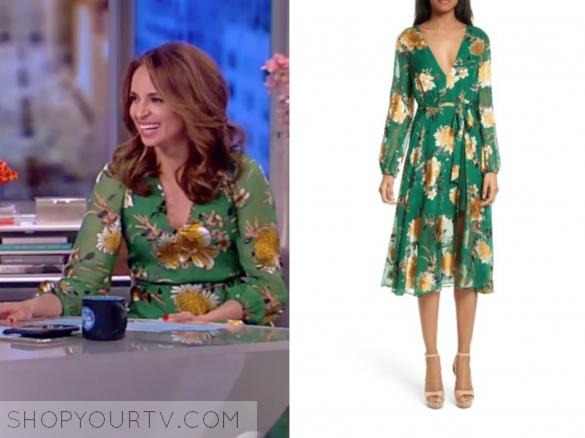 9e4b5819cbf2 ... Green Floral Long Sleeve Dress. Previous Next. ALICE + OLIVIA COCO  DEVORE MIDI DRESS