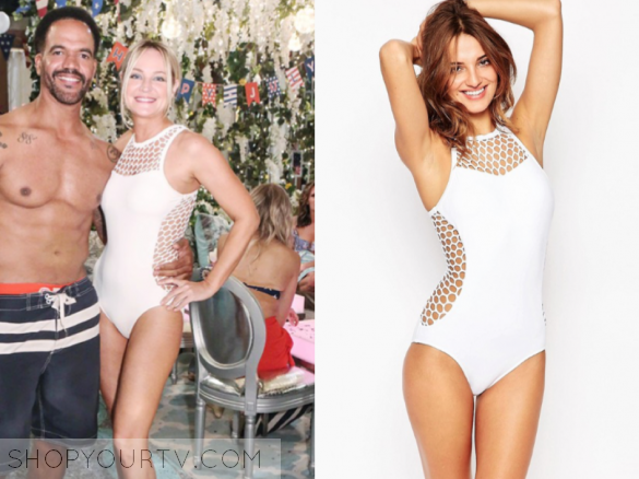 SEAFOLLY MESH ABOUT HIGH NECK MAILLOT Swimsuit