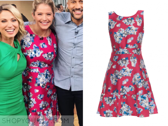 DIANE VON FURSTENBERG TOPANGA DRESS