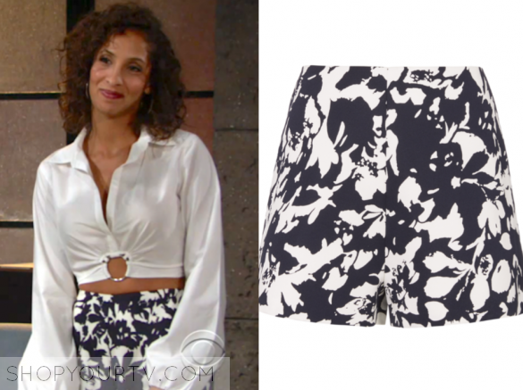 Alexis Carrie Floral Shorts