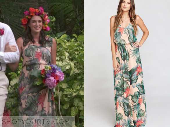 show me your mumu Kendall Maxi Dress ~ Kauai Kisses