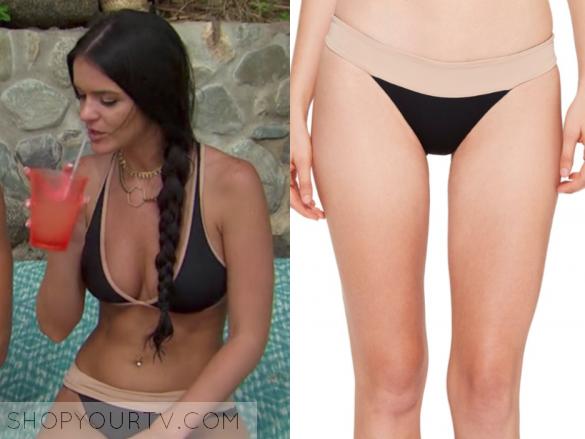 L*Space Veronica Color Block Reversible Bikini Bottom