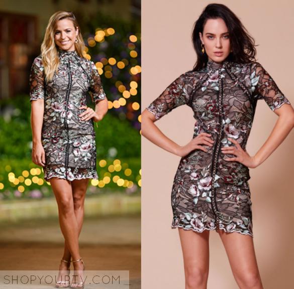 The bachelor lace dress