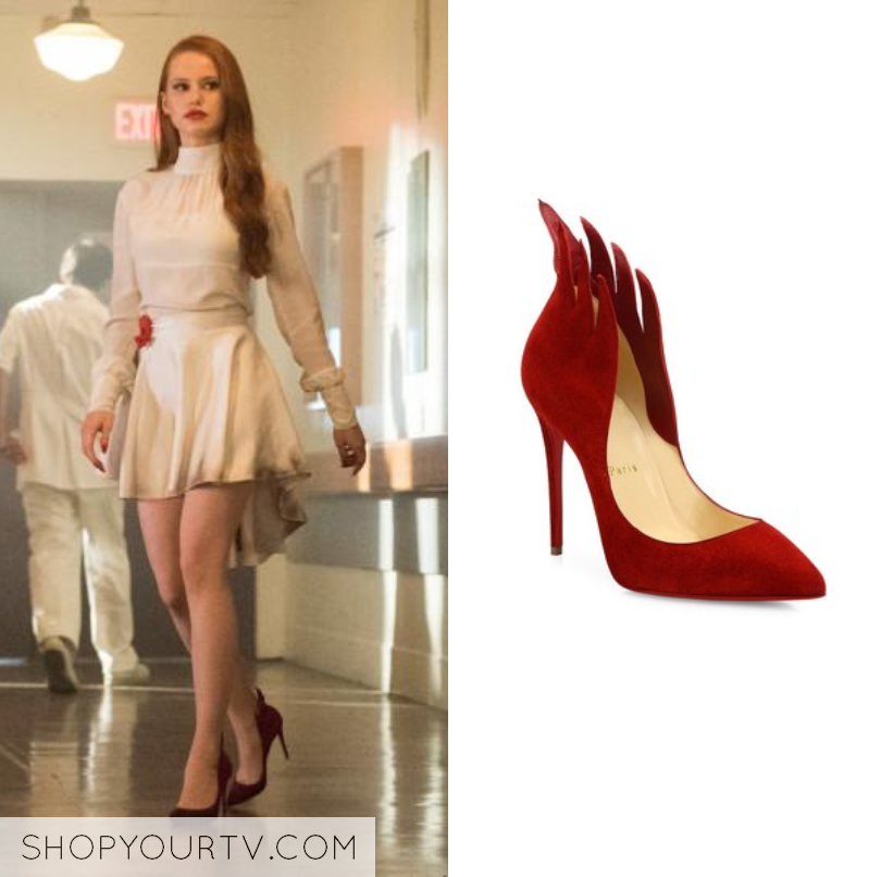 Riverdale Season 2 Episode 1 Cherylu2019s Red Flame Heels u2013 Shop Your TV