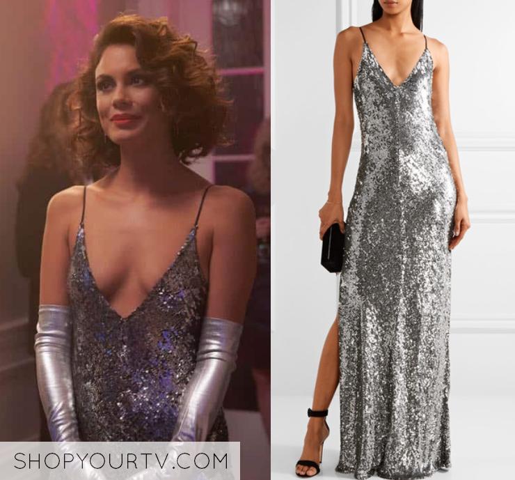 Dynasty Season 1 Episode 3 Cristal S Embellished Gown Shop Your Tv