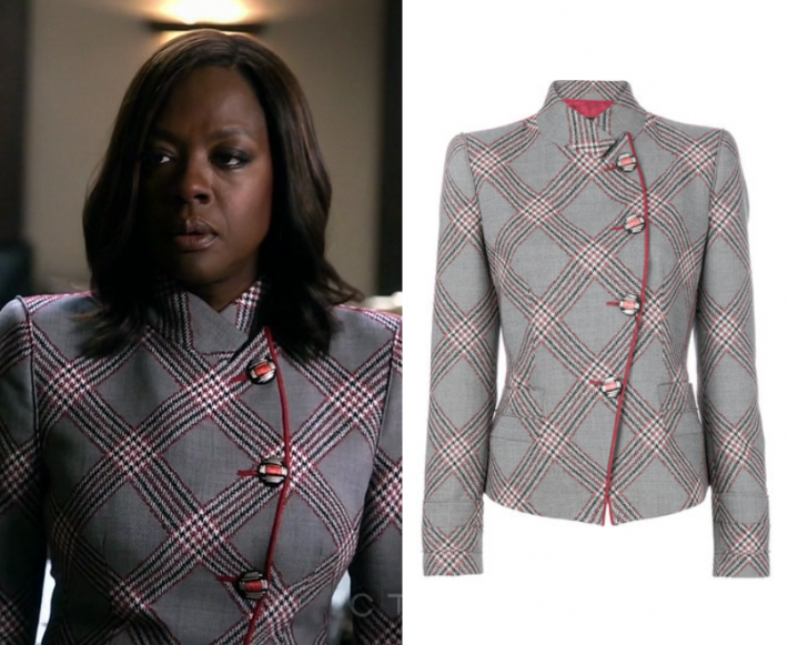 Shop your tv how to get away with murder season 4 episode 2 shop your tv how to get away with murder season 4 episode 2 annalises checked blazer ccuart Images