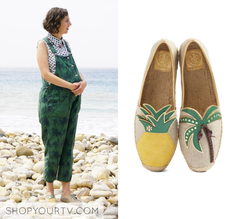 The Last Man on Earth: Season 4 Episode 2 Carol's Pineapple Palm Slip Ons