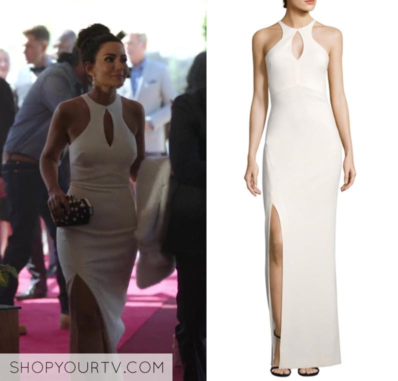 Riverdale: Season 2 Episode 5 Hermione\'s White Cut Out Gown – Shop ...