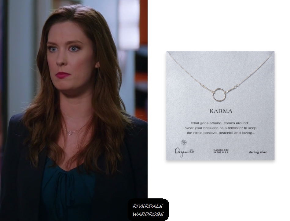 771abbbcddd1b Great News  Season 2 Episode 8 Katie s Silver Circle Necklace