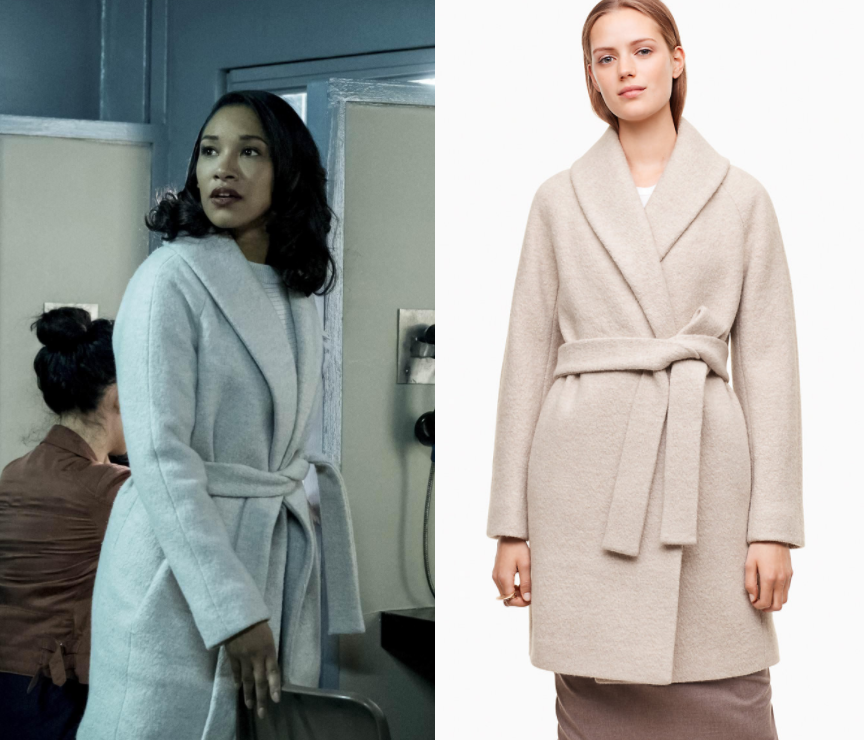 5ce994e05a985 The Flash  Season 4 Episode 13 Iris s White Coat