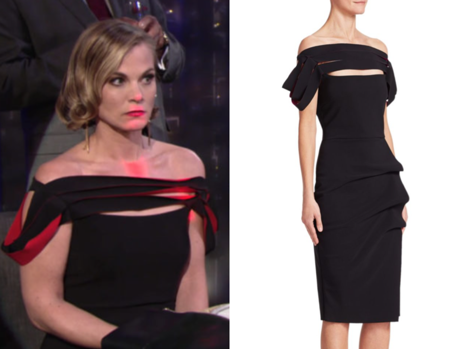 Chiara Boni La Petite Robe Strappy Cocktail Dress