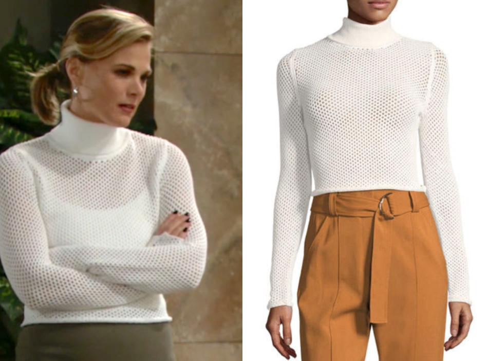 A.L.C. Jones Turtleneck Long-Sleeve Sweater