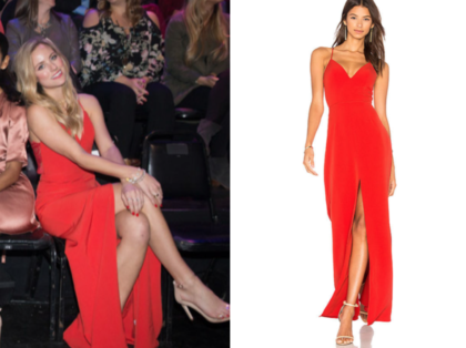 The Bachelor Season 22 After The Final Rose Kendalls Red Lace Back