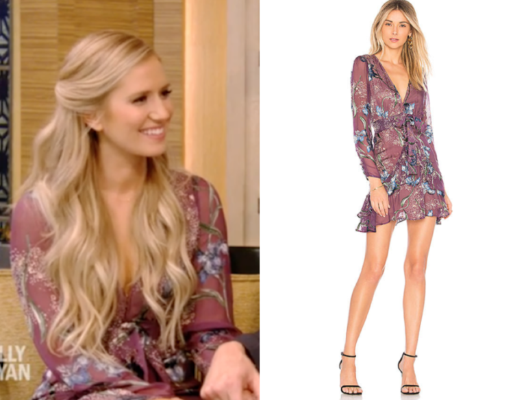 For love and lemons cleo floral party dress