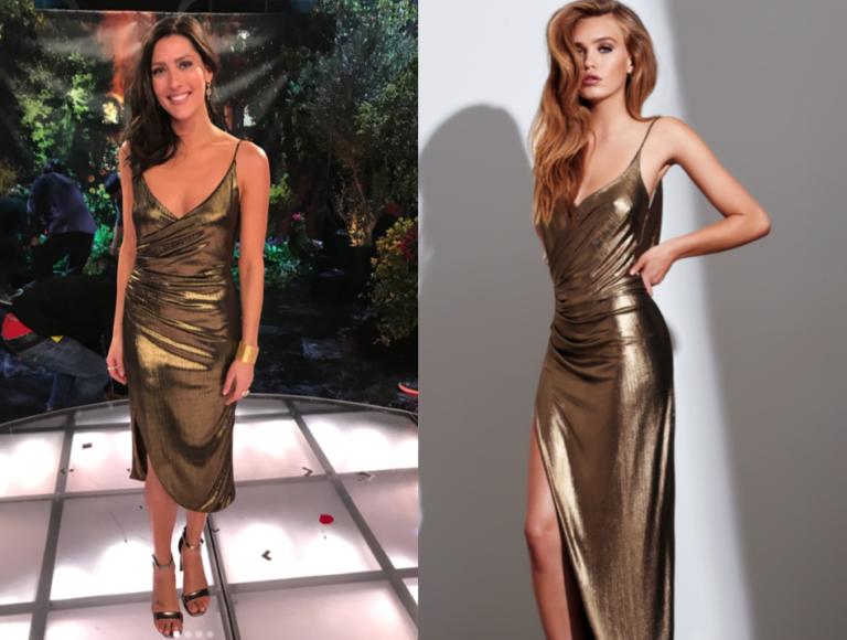 gemeli power gold gown
