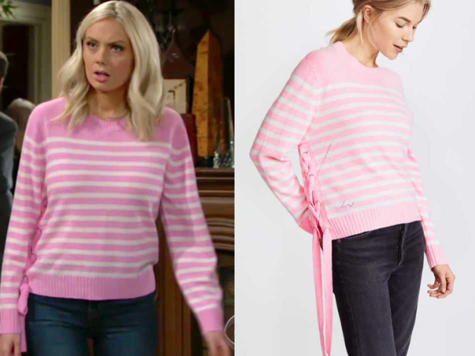 Zadig & Voltaire Franny Stripe Sweater
