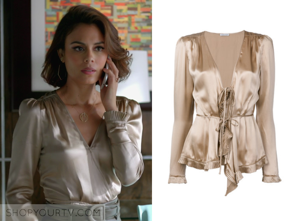 Dynasty 1x14 Fashion, Clothes, Style and Wardrobe worn on TV Shows ...