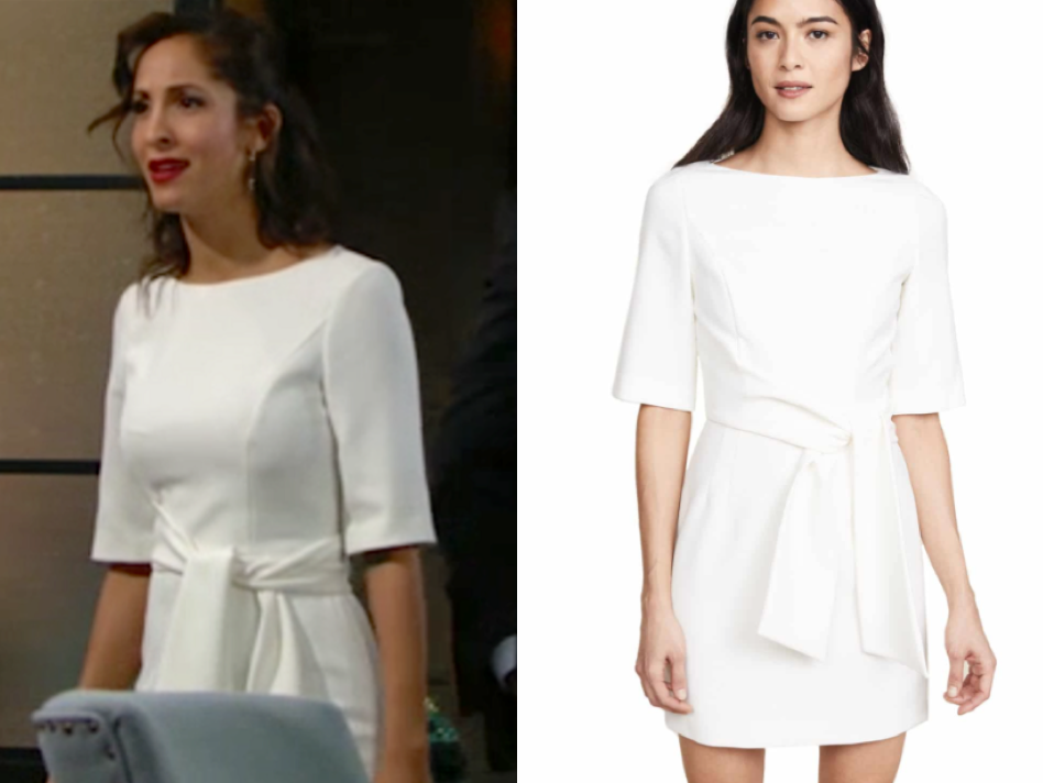 alice + olivia Virgil Dress, lily ashby, the young and the restless, christel khalil
