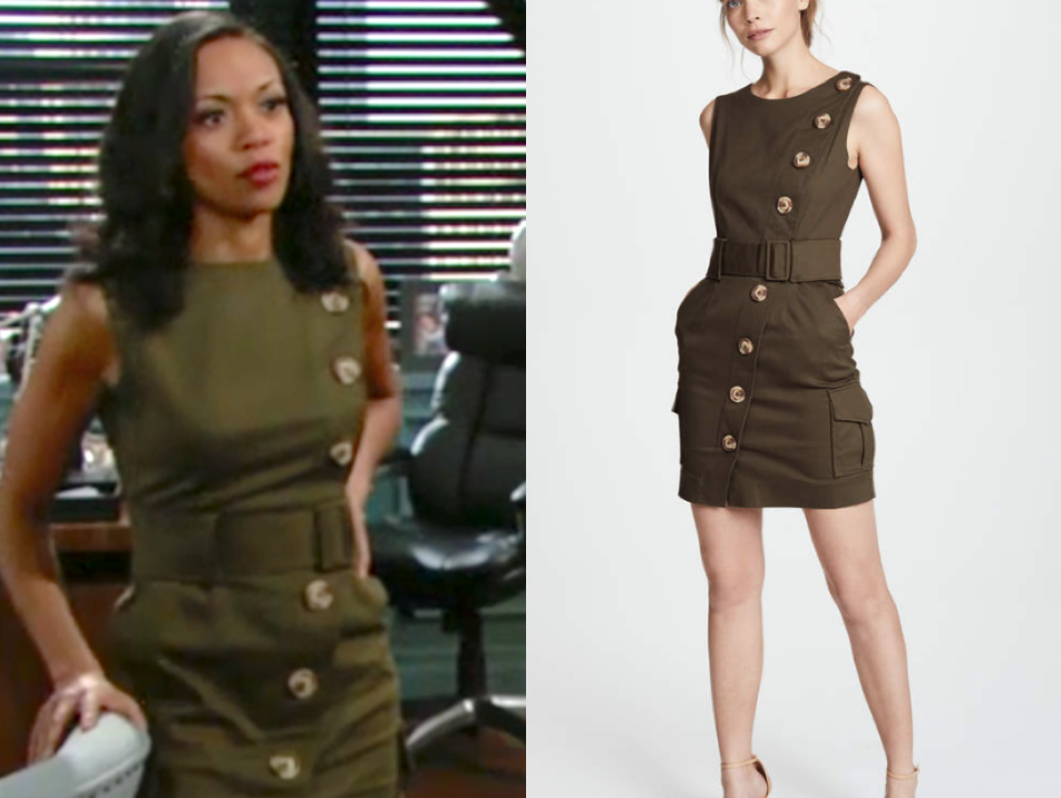 Nicholas N/Nicholas Backless Dress, hilary curtis, the young and the restless, mishael morgan