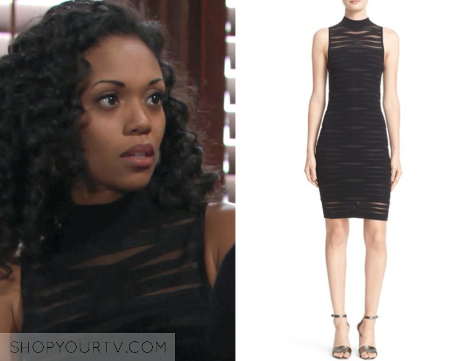 hilary curtis, the young and the restless, mishael morgan