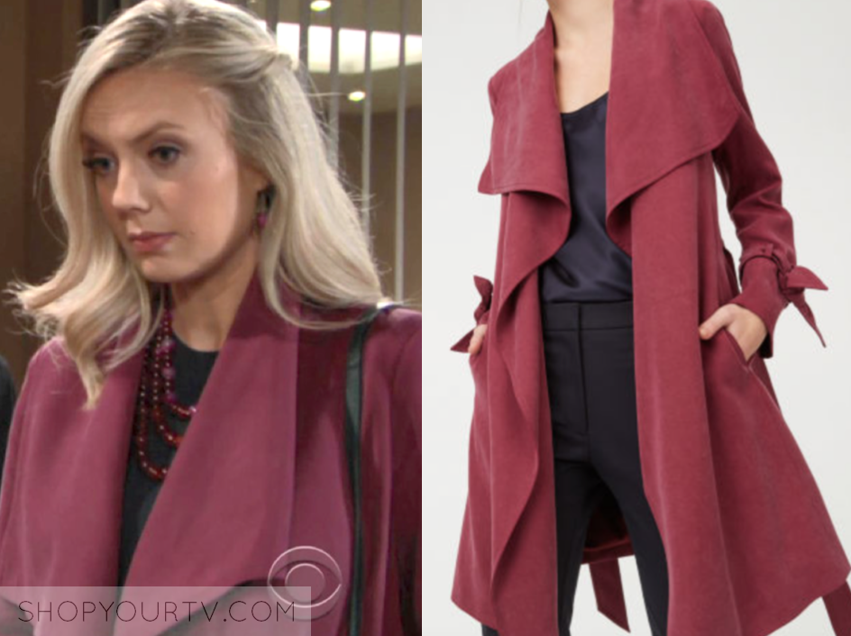 club monaco ellayne trench coat