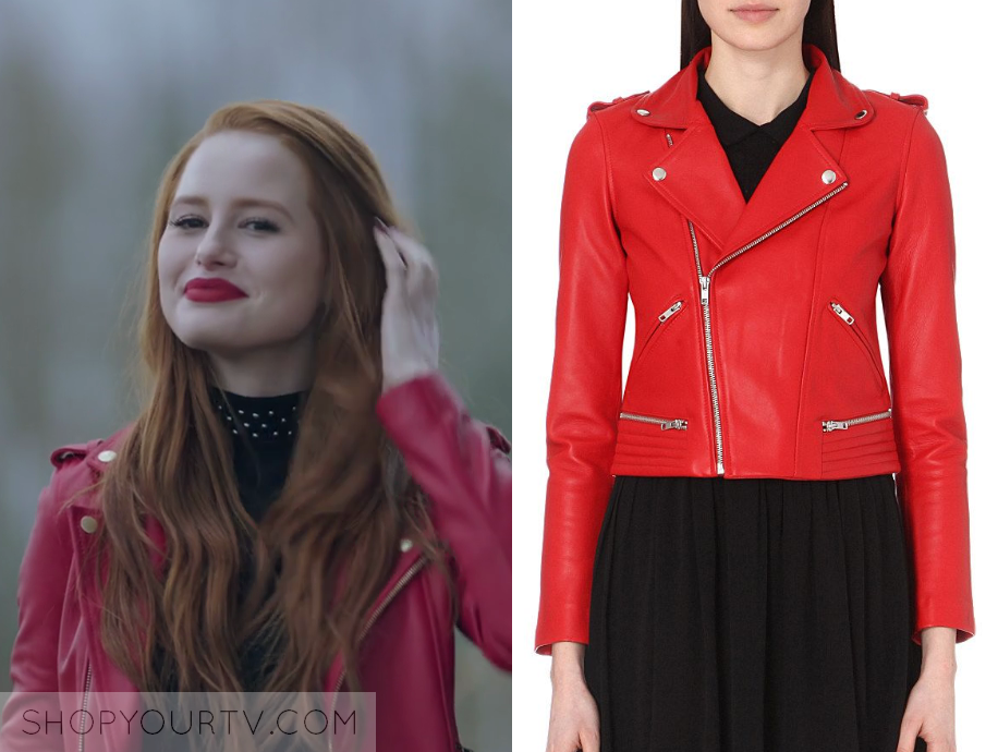 Riverdale Season 2 Episode 22 Cheryl S Red Leather Jacket