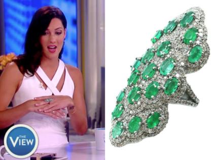 royal nomad emerald ring