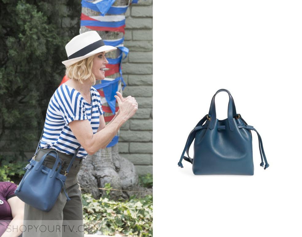 f4d10df20 Modern Family: Season 10 Episode 1 Claire's Blue Bucket Bag   Shop Your TV